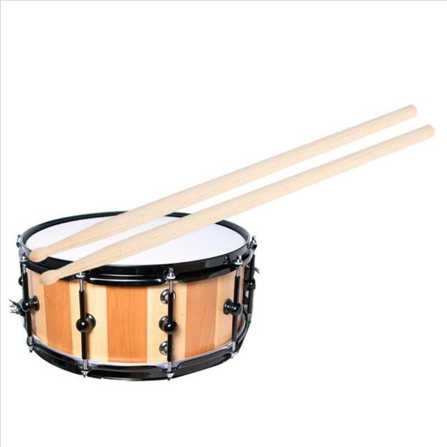 1 Pair Maple Wood 5A 7A 5B Drum Sticks Rock Band Practice Percussion Drumsticks Drum Stick