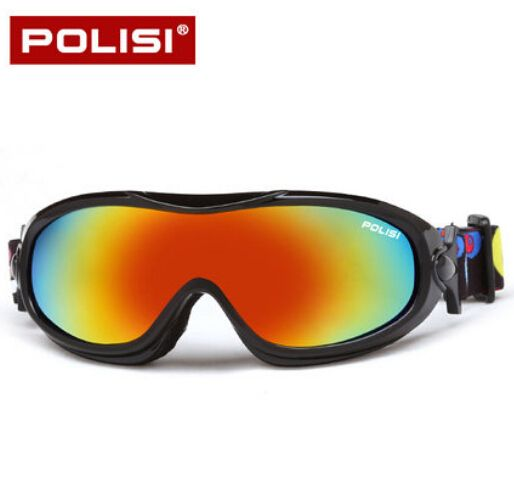 POLISI Children Kids UV400 Ski Snow  Protective Glasses Winter Skiing Eyewear Snowboard Snowmobile Skate Googles Anti-Fog