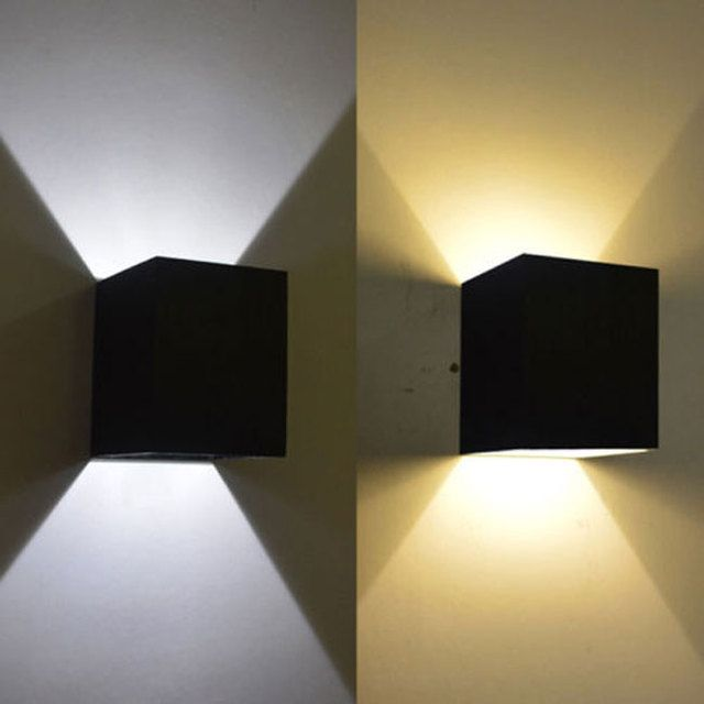Hot Sale Modern 3W Wall Light Up & Down LED Sconce Lighting Lamp Indoor White /Warm White