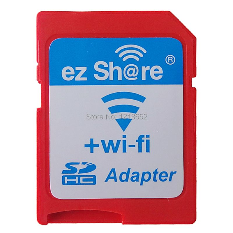 EZ share ezshare micro sd adapter cases wifi wireless 16G 32G memory card caseTF MicroSD adapter WiFi SD card free ride