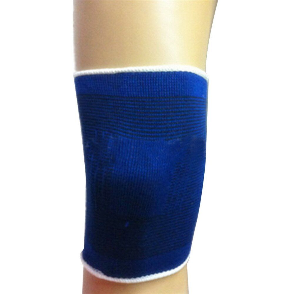 TSAI Knee Protector Pad Adjustable Soft Elastic Breathable Support Brace Sports Bandage Safety Guard Strap For Basketball