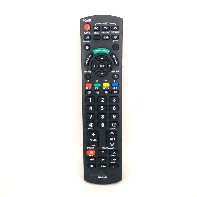 New Replace RM-D920 Remote Control For Panasonic 3D TV Telecomando N2QAYB000572 N2QAYB000487 EUR7628030 EUR7628010 N2QAYB000352