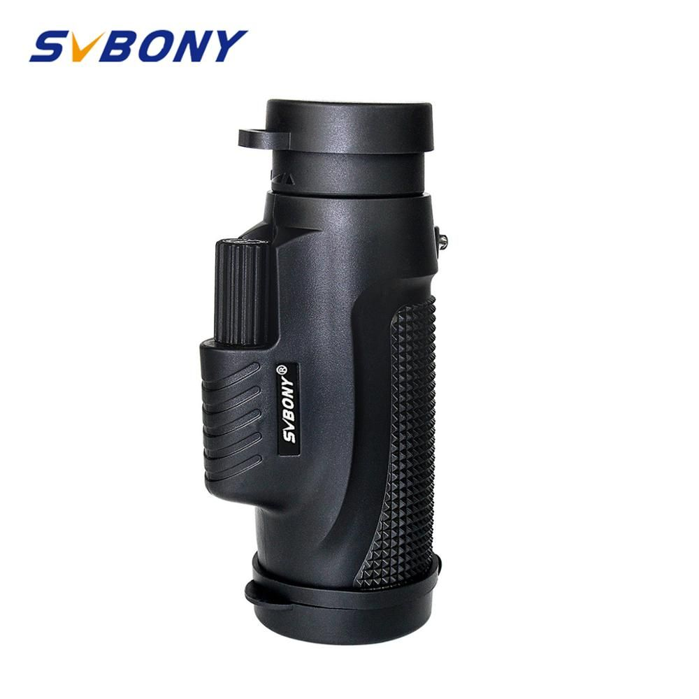 8x32 Monocular SVBONY Telescope Waterproof Compact Travel Camping Hunting Hiking Binoculars Magnification Telescope