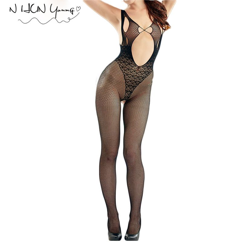 Women Sexy Lingerie Hot Erotic Underwear Bodystocking Sex Sleepwear Lenceria Erotica Mujer Sexi  Erotic Lingerie Plus Size QQ239