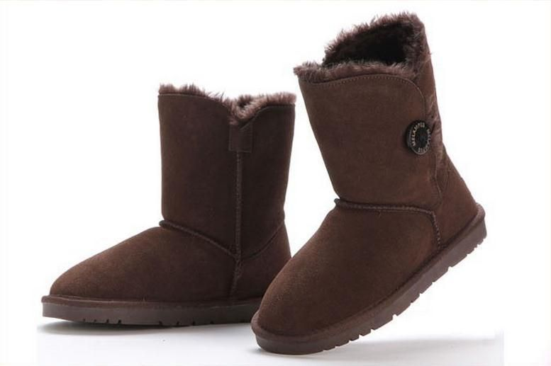 Women Snow Boots Australia  Brand Classic Genuine Leather Snow Boots Winter Boots 5803