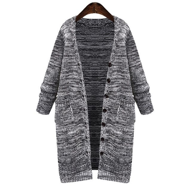 Poncho Computer Knitted V-neck Women Sweaters And Pull 2016 New Large Size Coat Europe Long Cardigan Sweater Mm Fat 200 Pounds
