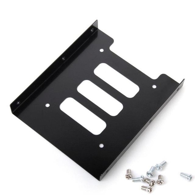 "Reliable New 2.5"" SSD HDD To 3.5"" Mounting Adapter Bracket Dock Hard Drive Holder For PC"