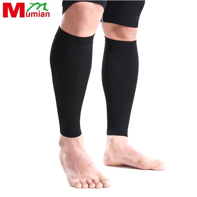 Mumian Basketball Guard Crus Sleeve Brace Outdoor Sports Gear Protective Sheath Football Running Knee Set of Legs S06