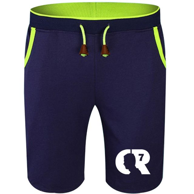 Summer Cotton Shorts Cristiano Ronaldo Madrid Portugal CR7 Men Fashion Breathable Male Casual Comfortable Size Cool Short