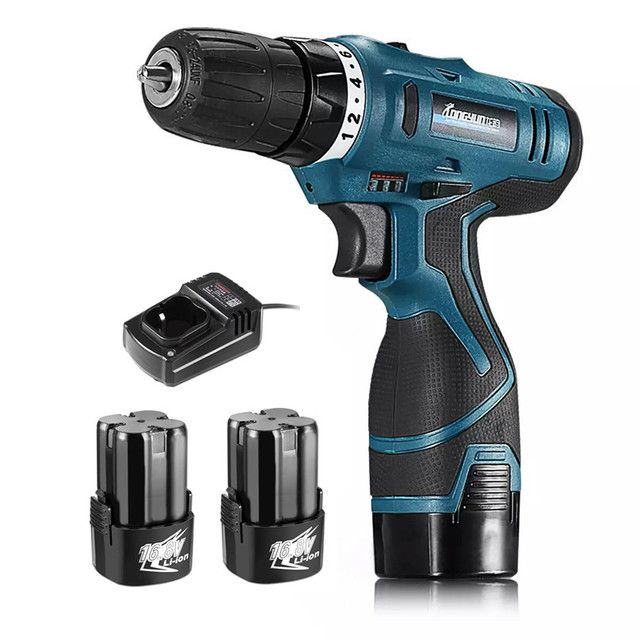 longyun 16.8V additional lithium-ion Battery Cordless Electric hand Drill hole electrical Screwdriver driver Wrench power tools