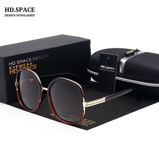 Women 's new polarized sunglasses classic fashion driving sunglasses LM006 sunglasses glasses