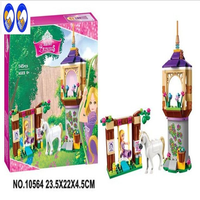 A Toy A Dream Bela 10564 Girl Princess Series Castle Gardens Toys  Toys Building Blocks Compatible With Lepin 41065 block P715