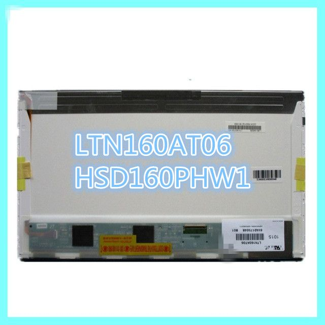 Original LTN160AT06 A01 B01 W01 H01 U01 U02 U03 HSD160PHW1 16.0 Laptop LCD Display Panel for ASUS N61VG N61J X66IC