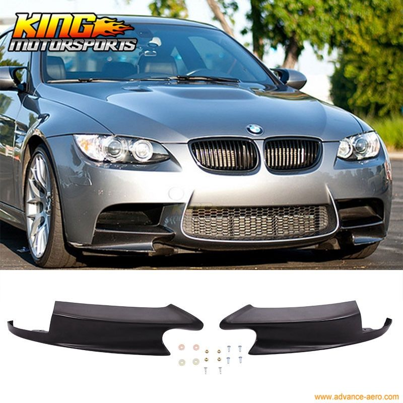 For 08-13 BMW E90 E92 M3 Front Bumper Lip ZCP Competition Performance  Splitter Body Kit