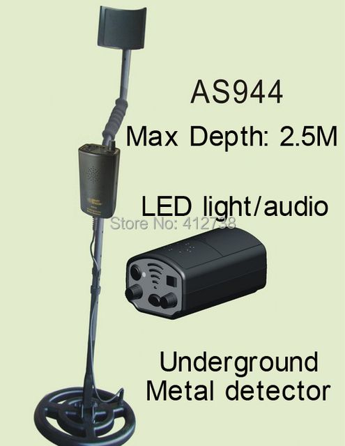 AS944 underground metal detector gold digger treasure hunter, detection depth is 2.5 meters