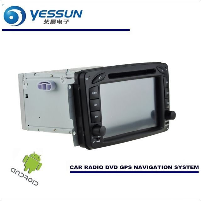 YESSUN Car Android Navigation System For Mercedes Benz CLK Class W208 A208 1996~2003 Radio Stereo DVD Player GPS Navi Multimedia