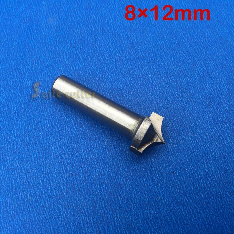 2pcs 8mm*12mm,CNC Tungsten steel 3D Needle nose bit,PVC,MDF,Acrylic,Carbide end mill,woodworking insert router bit
