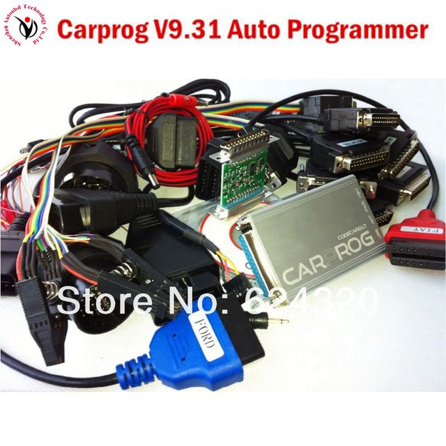 Newest Auto repair tool CARPROG Full V9.31 programmer car prog all softwares(radios,odometers, dashboards, immobilizer)