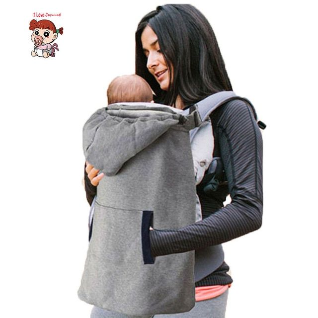 High Quality Baby Wrap Infant Carrier Cloak Front Sling Hooded Warm Cape Cloak Winter Cover Wind Out Soft Backpack Cover