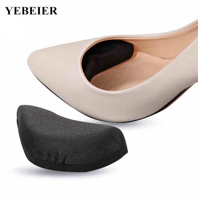 2 pairs 2017 New High Heels Insoles Memory FoamTip Buffer Anti Slip Pad Protect Toes From Friction  Insole for shoes women