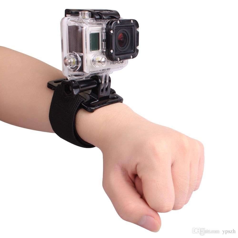 Andoer Adjustable Wrist Strap Fastener Tape Mount for Go Pro GoPro Hero 1 2 3 3+ 4 Camera