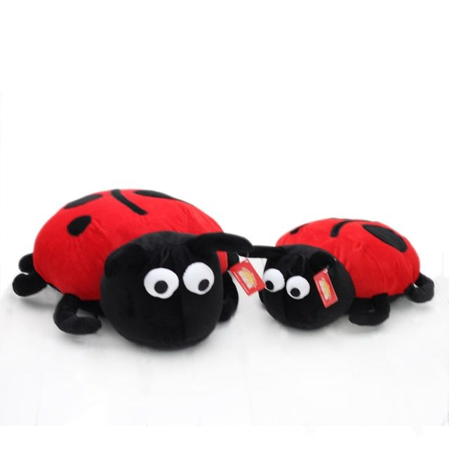 Freeshipping Plush toy cloth doll beetle ladybug pillow cushion nap pillow derlook