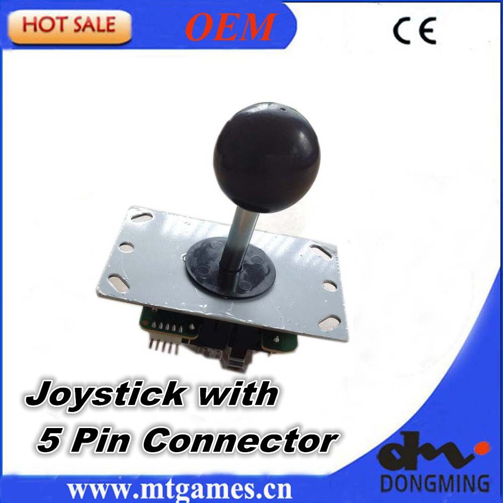 Arcade Joystick 4 - 8 Way Sanwa style Joystick with 5 pin cable For Arcade game machine  Mame controller kits arcade Accessory