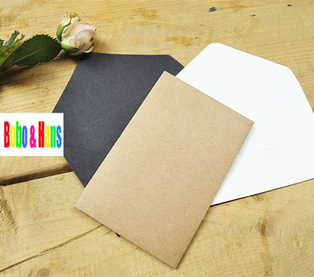 New 10 pcs/lot fashion simple style kraft Paper Envelope DIY Gift Envelope