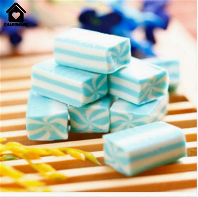 CharmHome Fudge Snack Candy33 gram 3 pieces Sugar candy  imported china food Delicious candy