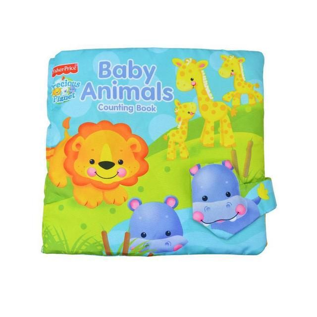 Baby Cloth Book Toddlers infant counting book Toy Early Educational toys activity livre livro animal bebes