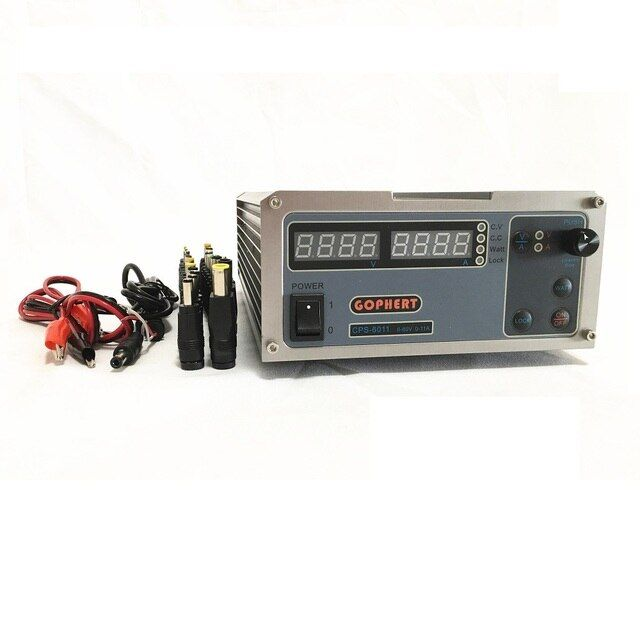 CPS-6011 60V 11A High power digital display DC power supply adjustable 0-60V/0-11A Adjustable power supply