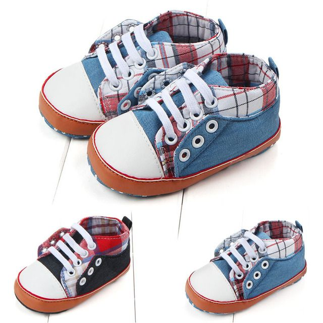 2017 Summer New Blue Jean Baby Boys Girls Shoes Toddler Infants First Walkers Shoes For Buckle Strap Bebe Shoes SAILEROAD