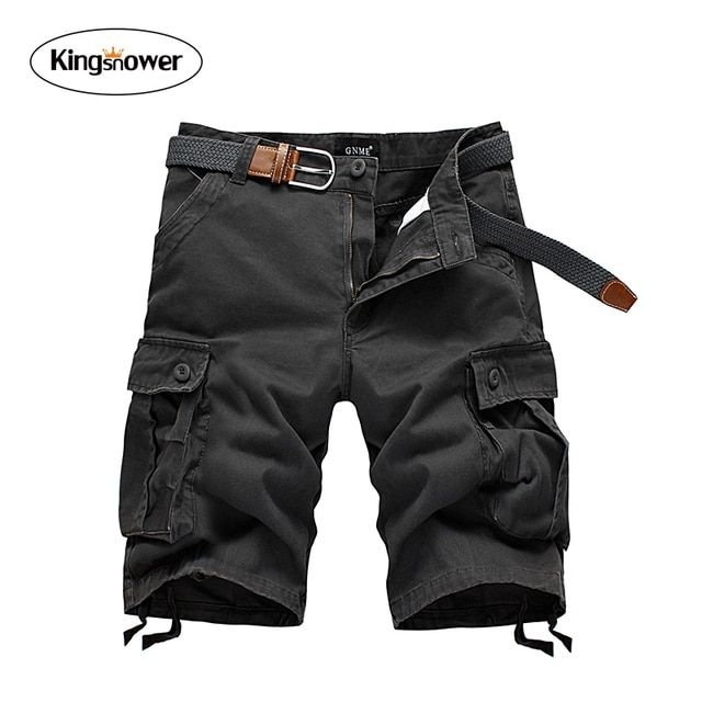 2016 Summer Men's Cotton Short Loose Cargo Shorts Mens Casual Shorts Boardshorts Beach Shorts Bermuda JA6011