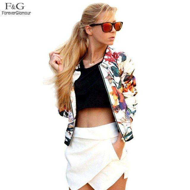 FANALA Women Jacket Spring Autumn 2017 Vogue Lozenge Women Floral Sequins Jackets Three quater sleeve Fashion Coats Outwears