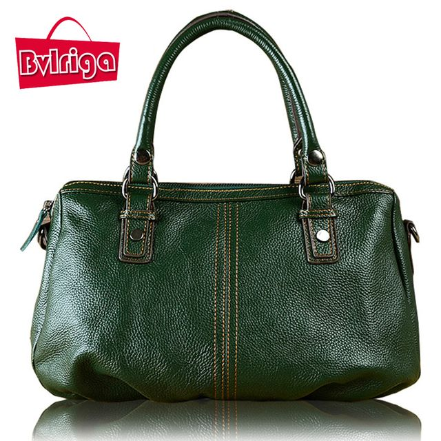 BVLRIGA Genuine Leather Bag Luxury Handbags Women Bags Designer Women Messenger Bags High Quality Famous Brands Handbag Bolsas