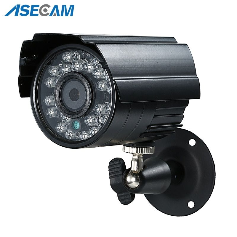 Hot 2MP HD CCTV 1080P AHD Camera 3000TVL Outdoor Waterproof Mini Small Metal Black Bullet IR Security Surveillance Cam