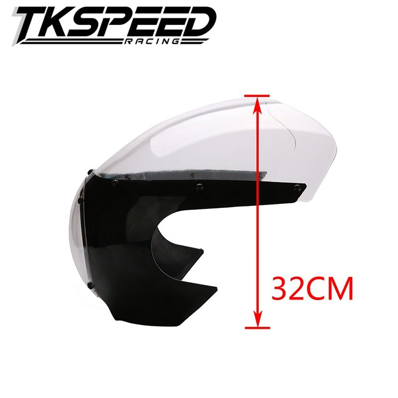 "new arrived motorcycle Black 5 3/4"" Cafe Racer Headlight Fairing"