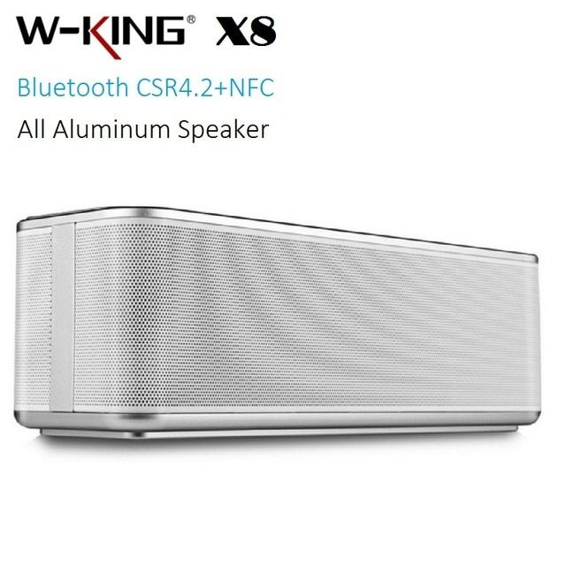 W-king X8 Portable Bluetooth Speaker as element t6 altavoces with NFC