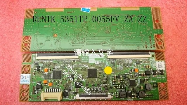 100% Original New 06.07 arrive t-con RUNTK 5351TP 0055FV ZA ZZ,RUNTK5351TP,same good working for all TV