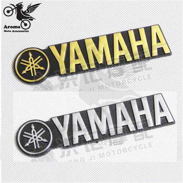 Strip brand motorcycle sticker for yamaha logo Emblem Badge 3D motorbike tank decoration decals professional car style colorful