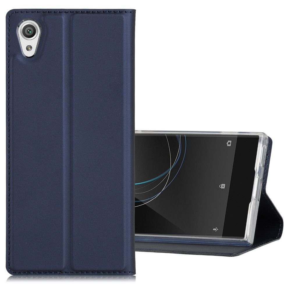 Phone Case for Sony Xperia XA1 / XA1 Ultra Cover Flip PU Leather Card Holder Stand Inner Soft Silicone Phone Shell Chekhol