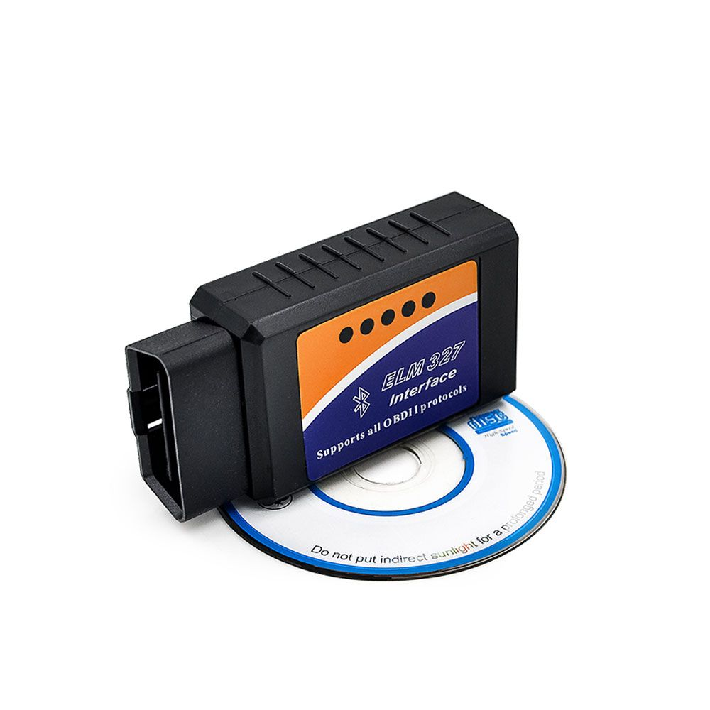 Hot Sale OBD2 ELM 327 V2.1 Bluetooth Interface USB Works On Android Torque Elm327 OBD II/OBD 2 Diagnostic Tool Car Scanner Tool