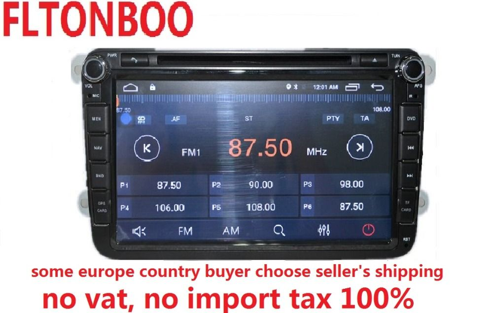 Android 8.1 for VW B6,tiguan,golf jetta 2din car dvd,gps,wifi,radio,bluetooth,Steering wheel Canbus,free 8g map mic,touch screen