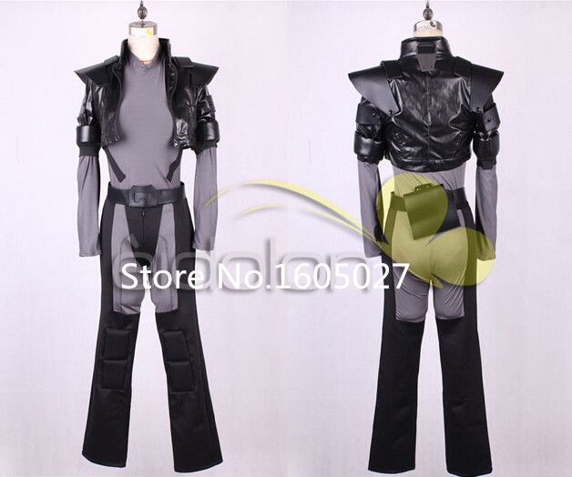 Game Anime Ghost in the Shell Kusanagi Motoko Party Suit Uniform Hallowmas Clothing Cosplay Costume Free Shipping