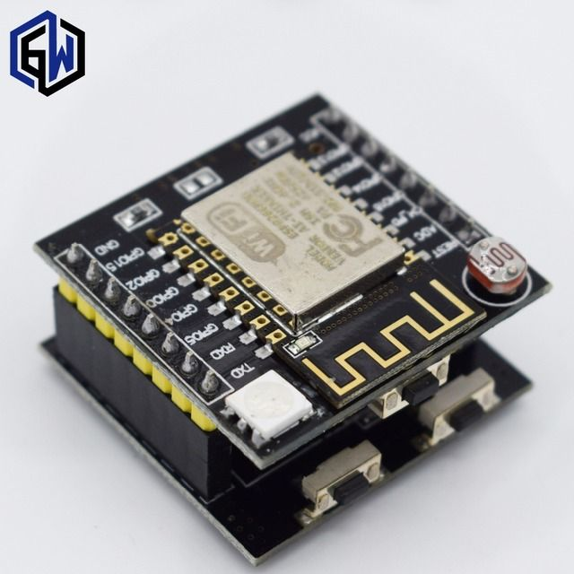 TENSTAR ROBOT JZY ESP8266 serial WIFI Witty cloud Development Board ESP-12F module MINI nodemcu