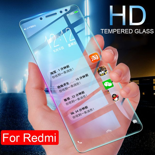 Protective Glass For Xiaomi Redmi 6 Pro 6A S2 5A 4X Glass On The For Redmi 5 Plus 4 Pro 4A 3S 3 Tempered Glass Screen Protector
