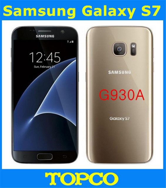 "Samsung Galaxy S7 G930A Original Unlocked 4G LTE GSM Android Mobile Phone Quad Core 5.1"" 12MP RAM 4GB ROM 32GB Dropshipping"