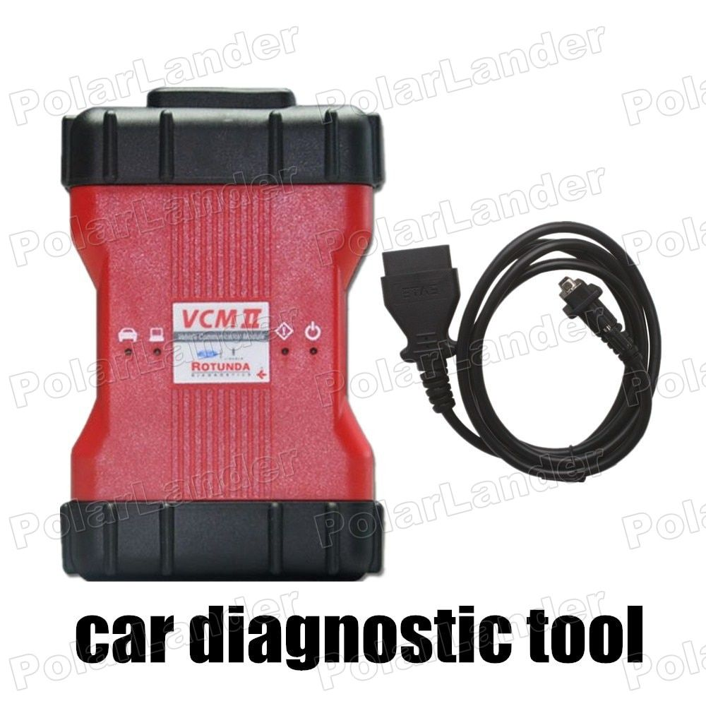 hot car diagnostic tool VCM II 2 in 1 OBD with Set Adjust or Remove Speed Governors function For Ford IDS V98 for Mazda IDS V96