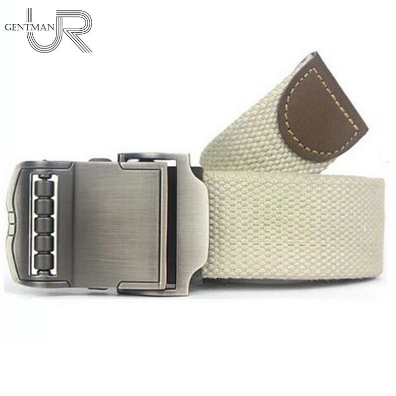 New Sports Car Style Buckle Belt Men Women Canvas Belts High Quality Male Straps Military Equipment Belt Tactical Luxury Belts