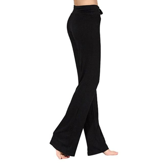 Pro Women Yoga Long Pants Sport Fitness Gym Running Loose Trousers Drop Shipping